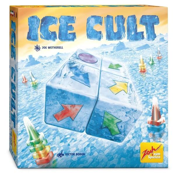 Simba 601105087 - Zoch - Familienspiel, Ice Cult