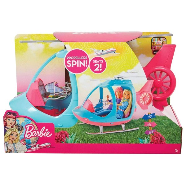Mattel FWY29 - Barbie - Dreamhouse Adventures - Reise Hubschrauber
