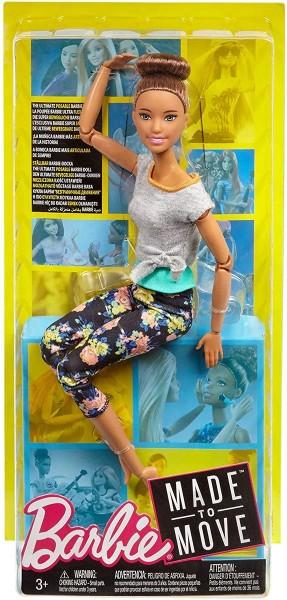 Mattel FTG82 - Barbie - Puppe mit Gelenken - Made to Move