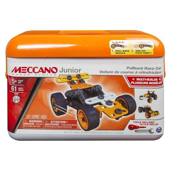 Spin Master 6027720 (20114336) - Meccano junior - Fahrzeug - baue verschiedene Modelle