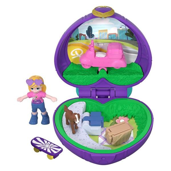 Mattel FRY30 - Polly Pocket - Mini Schatulle, Pollys Picknick