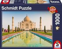 Schmidt 58337 - Premium Quality - Taj Mahal, Puzzle 1000 Teile