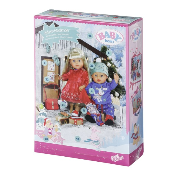Zapf 828472 - BABY born - Adventskalender