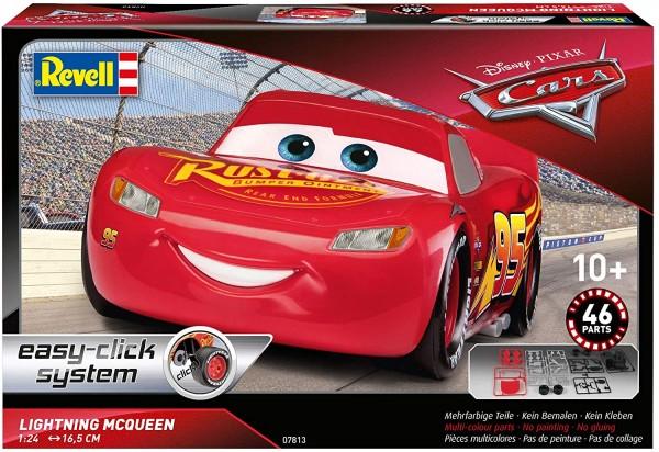 Revell 07813 - Disney Cars - Lightning Mc Queen - Modelbausatz - Easy Click System