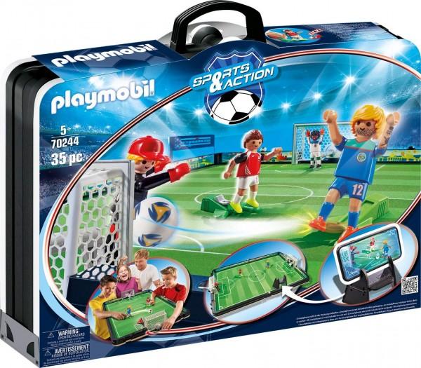 PLAYMOBIL® 70244 - Sports & Action - Große Fußballarena zum Mitnehmen
