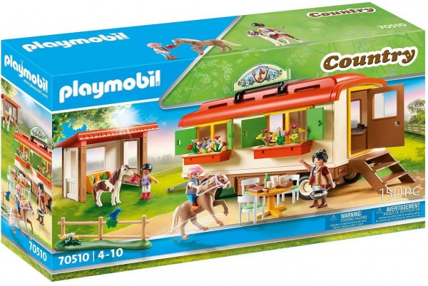PLAYMOBIL® 70510 - Country - Ponycamp Übernachtungswagen