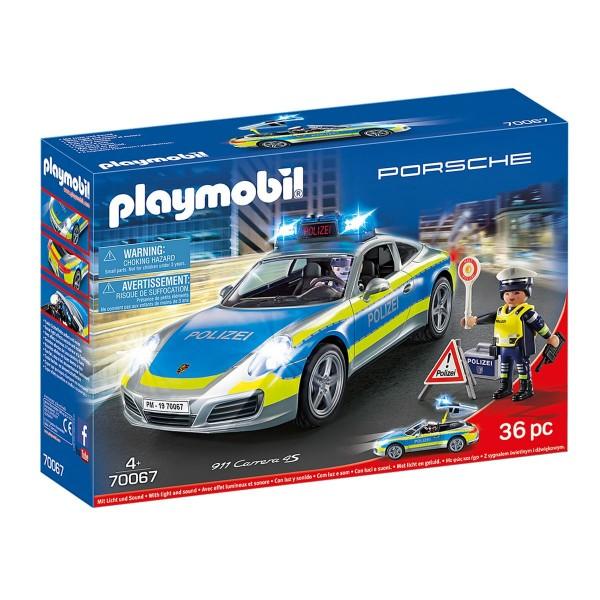 PLAYMOBIL® 70067 - City Action - Porsche 911 Carrera 4S Polizei