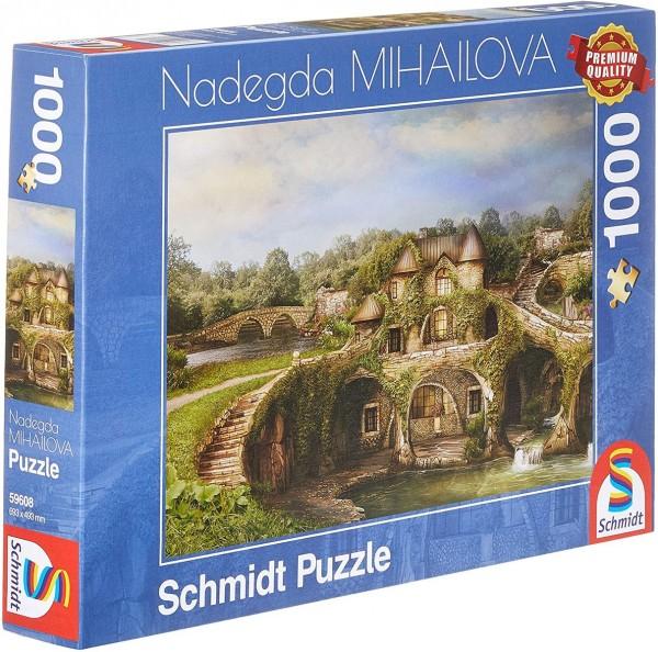 Schmidt 59608 - Premium Quality - Nadegda Mihailova - Naturhaus, 1000 Teile Puzzle