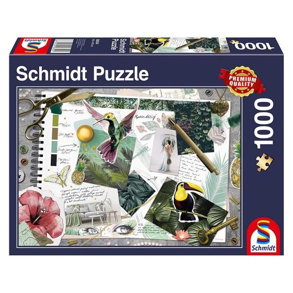 Schmidt 58354 - Moodboard - Puzzle 1000 Teile