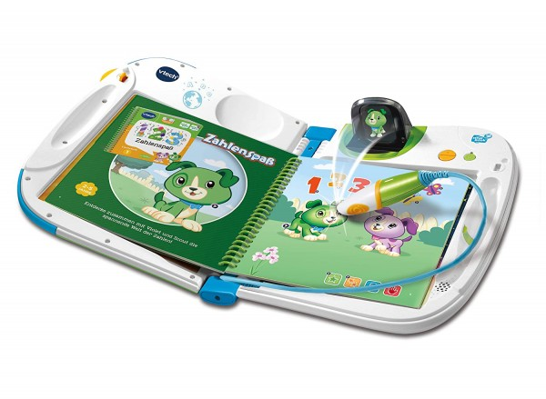 V-Tech 80-603904 2.Wahl - MagiBook - interaktives 3D-Lernbuchsystem