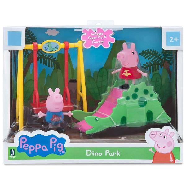 Jazwares 97049 - Peppa Pig - Dinosaurier Park