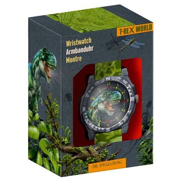 Coppenrath 16952 - Die Spiegelburg - T-Rex World - Armbanduhr