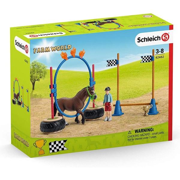 Schleich 42482 - Farm World - Pony Agility Rennen
