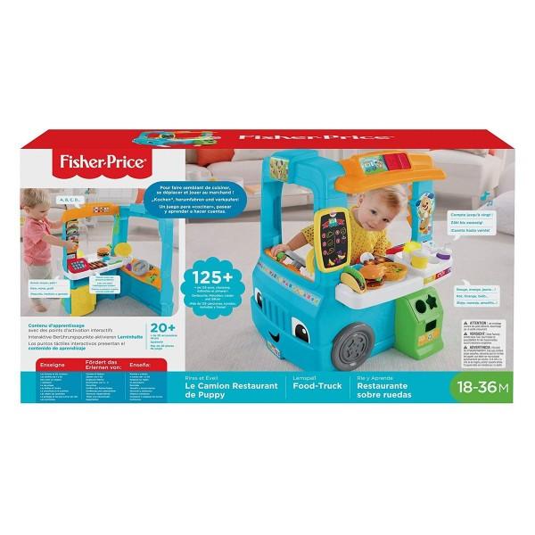 Mattel GHJ07 - Fisher-Price - Lernspaß Food Truck