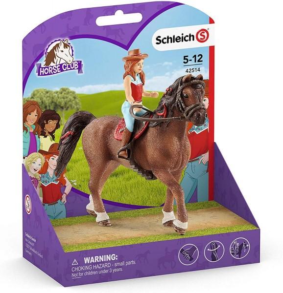 Schleich 42514 - Horse Club - Hannah & Cayenne