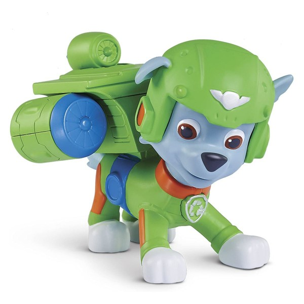 Spin Master 20071467 - Paw Patrol - Air Rescue Rocky, Action-Pack mit Figur