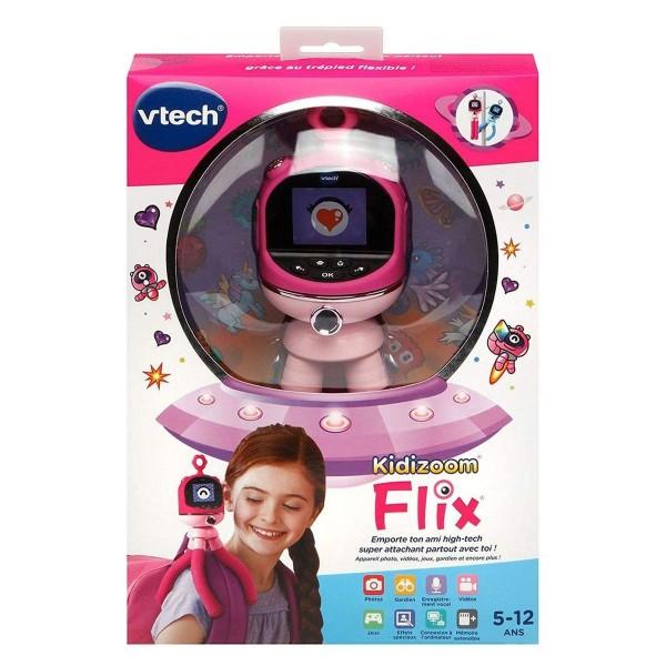 V-Tech 80-507554 - Kidizoom - Flix - interaktives Spielzeug, pink