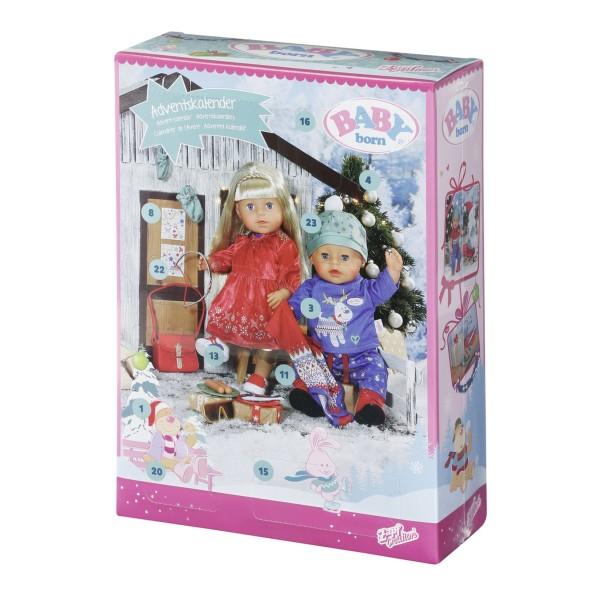 Zapf 828472 2.Wahl - BABY Born - Adventskalender