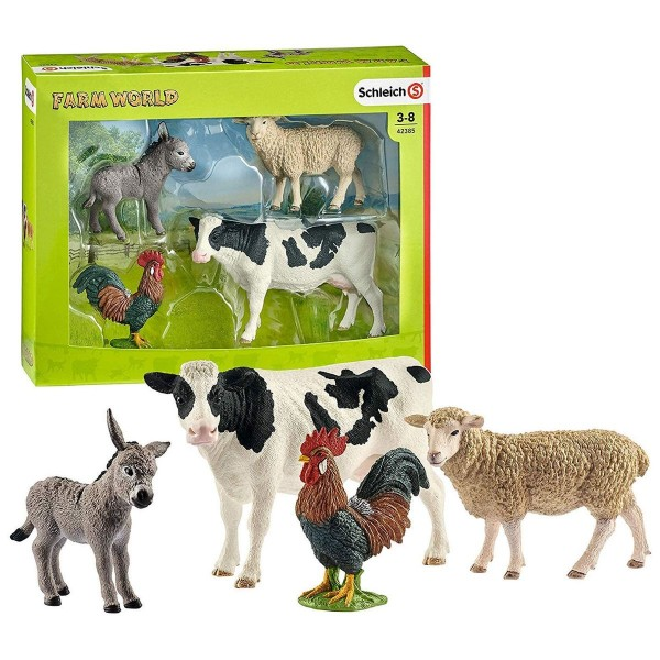 Schleich 42385 - Farm World - Starter Set Bauernhoftiere