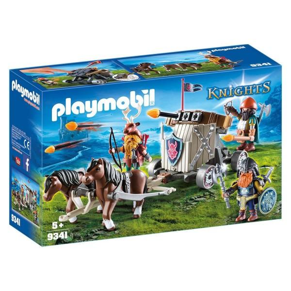 PLAYMOBIL® 9341 - Knights - Ponygespann mit Zwergenballiste