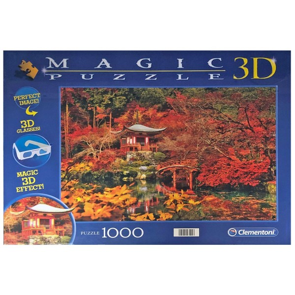 Clementoni 97121 - Magic 3D-Puzzle - 3D Orient Dream, 1000 Teile Puzzle