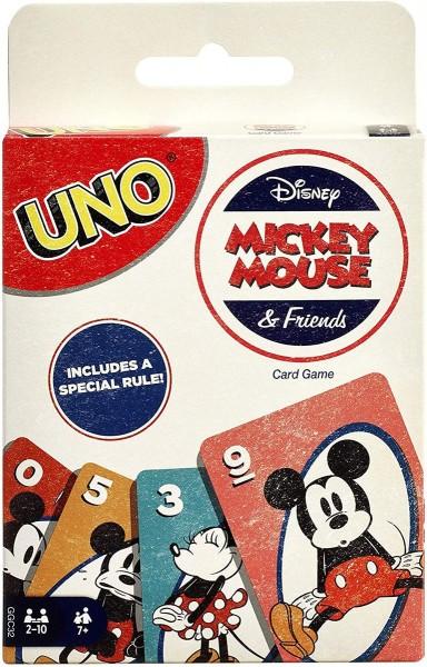 Mattel GGC32 - Disney Mickey Mouse - UNO Kartenspiel