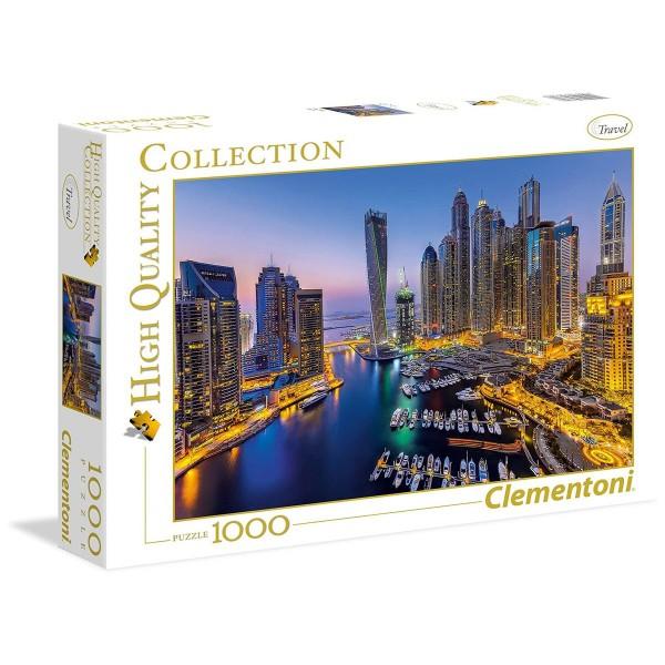 Clementoni 39381 - High Quality Collection - Dubai Puzzle, 1000 Teile