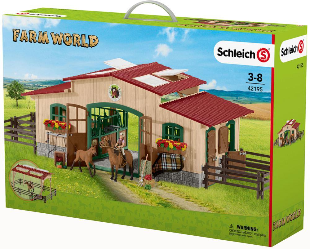 Spiel Pferdestall