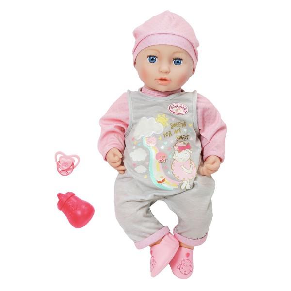 Zapf 700655 - Baby Annabell - Mia so Soft, 43 cm Puppe