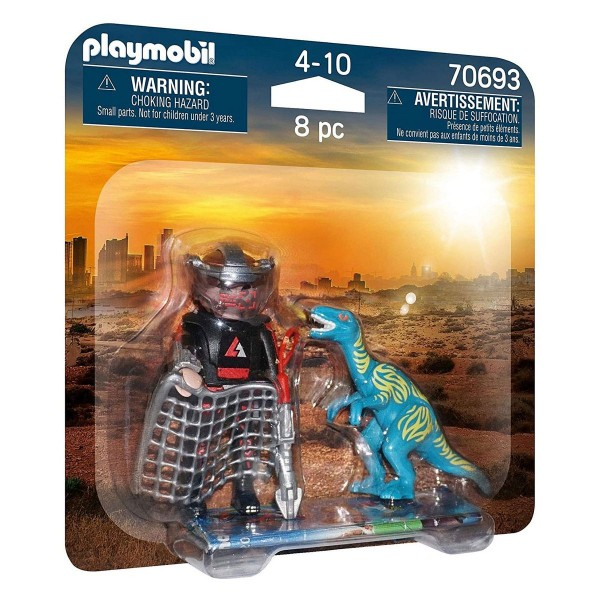 PLAYMOBIL® 70693 - DuoPack Jagd auf Velociraptor