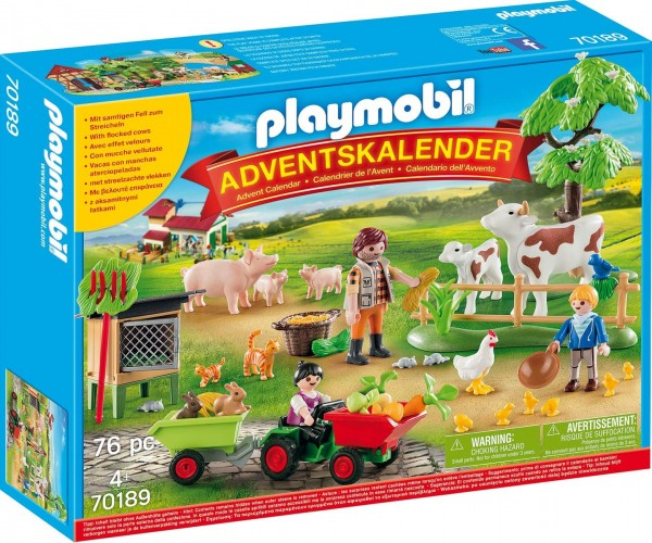 PLAYMOBIL® 70189 - Christmas - Adventskalender - Auf dem Bauernhof
