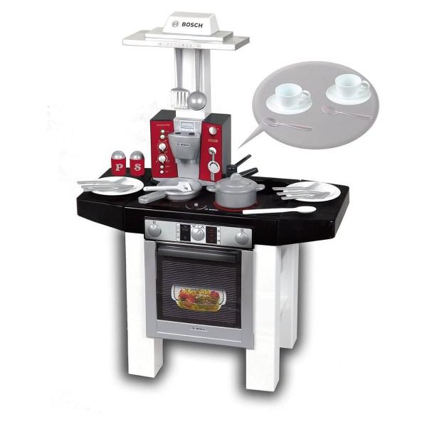 Theo Klein 9295 - Bosch - Kinderküche Style mit Espressomaschine und Zubehör