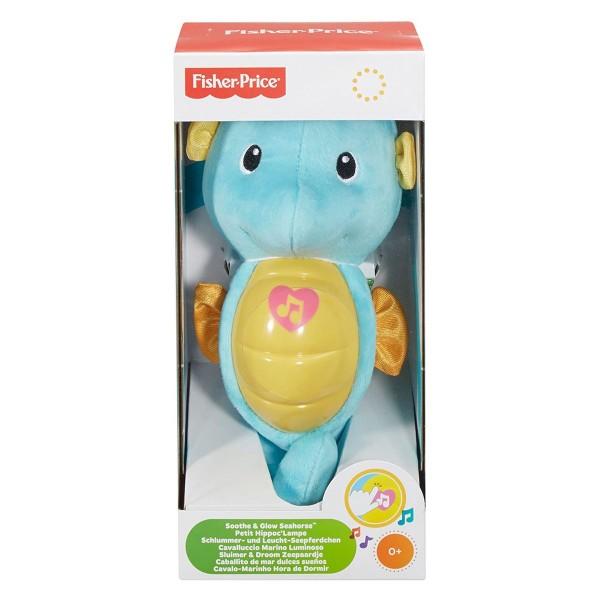 Mattel DGH82 - Fisher-Price - Schlummer und Licht Seepferdchen