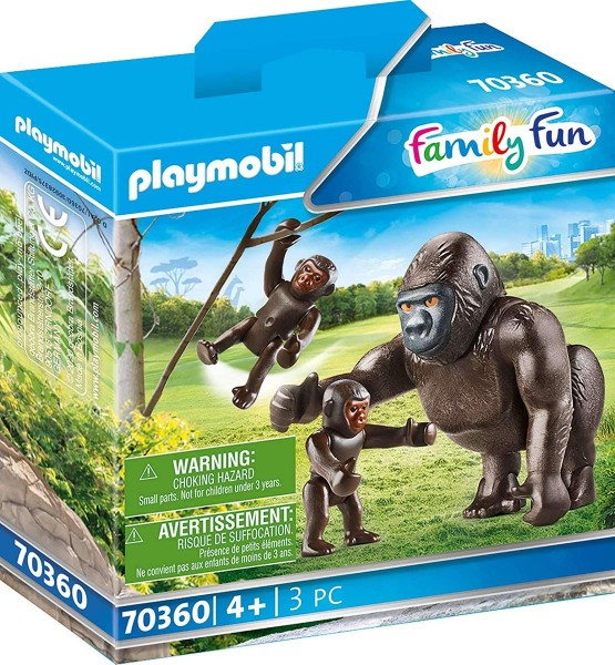 PLAYMOBIL® 70360 - Family Fun - Gorilla mit Babys