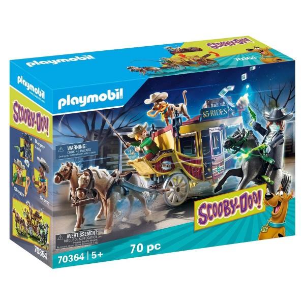 PLAYMOBIL® 70364 - Scooby-Doo! - Spielset mit Zubehör, Abenteuer im Wilden Westen