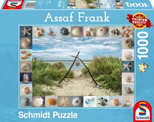 Schmidt 59631 - Premium Quality - Assaf Frank - Strandgut, 1000 Teile Puzzle