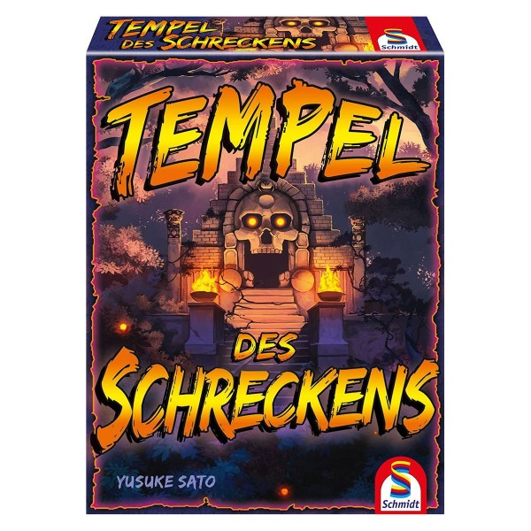 Schmidt 75046 - Tempel des Schreckens, Kartenspiel