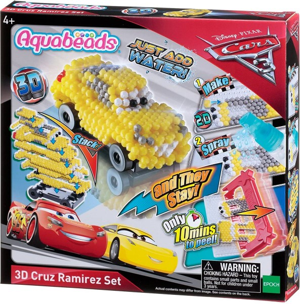 Epoch 30208 - Aquabeads - Cars 3 - 3D Cruz Ramirez