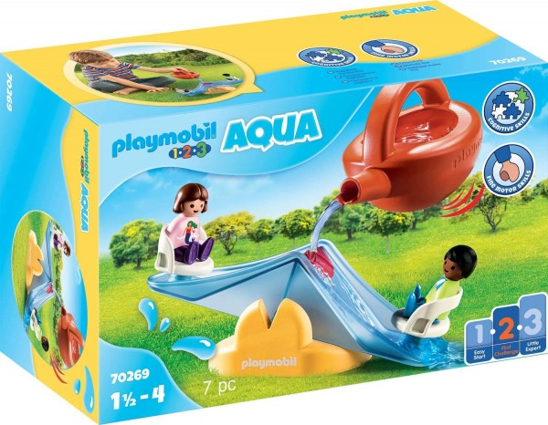 PLAYMOBIL® 70269 - 1•2•3 Aqua - Wasserwippe mit Gießkanne