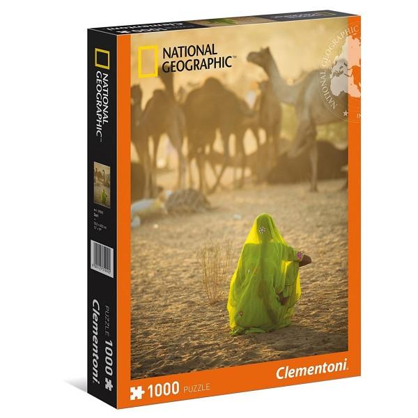 Clementoni 39302 - National Geographic - Sari Puzzle 1000 Teile