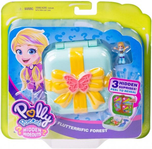 Mattel GDK79 - Polly Pocket - Spielschatulle, Verborgene Schätze Schmetterlingswal