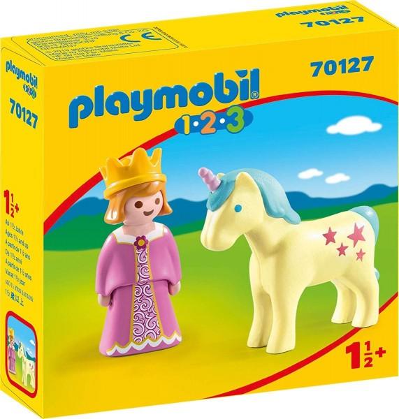 PLAYMOBIL® 70127 - 1•2•3 - Prinzessin mit Einhorn