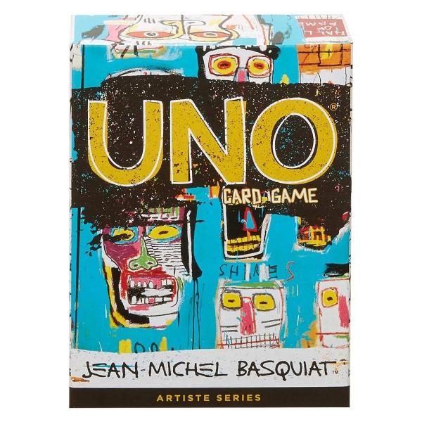 Mattel GDG38 - UNO - Kartenspiel, Künstler Edition