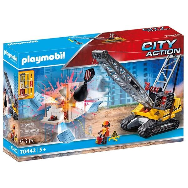 PLAYMOBIL® 70442 - City Action - Seilbagger mit Bauteil