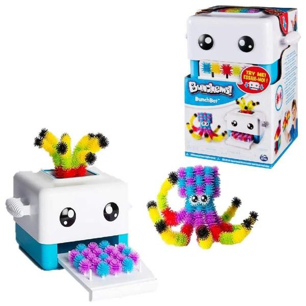 Spin Master 6036070 - Bunchems - BunchBot, Klett-Figuren-Set
