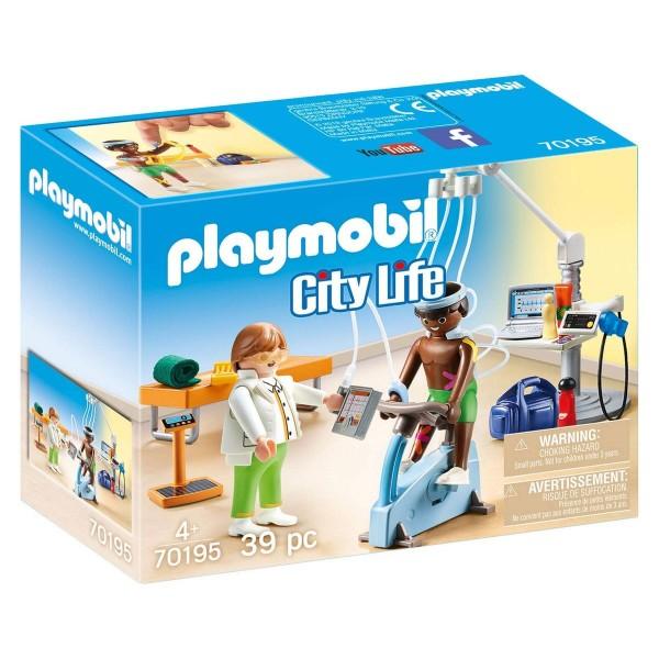 PLAYMOBIL® 70195 - City Life - Beim Facharzt: Physiotherapeut