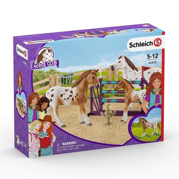 Schleich 42433 - Horse Club - Lisas Turnier Training