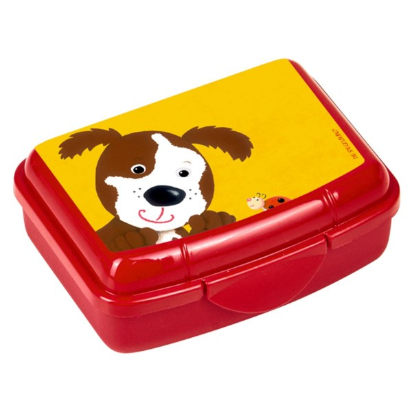 Coppenrath 14736 - Die Spiegelburg - Freche Rasselbande - Mini Snackbox, Hund