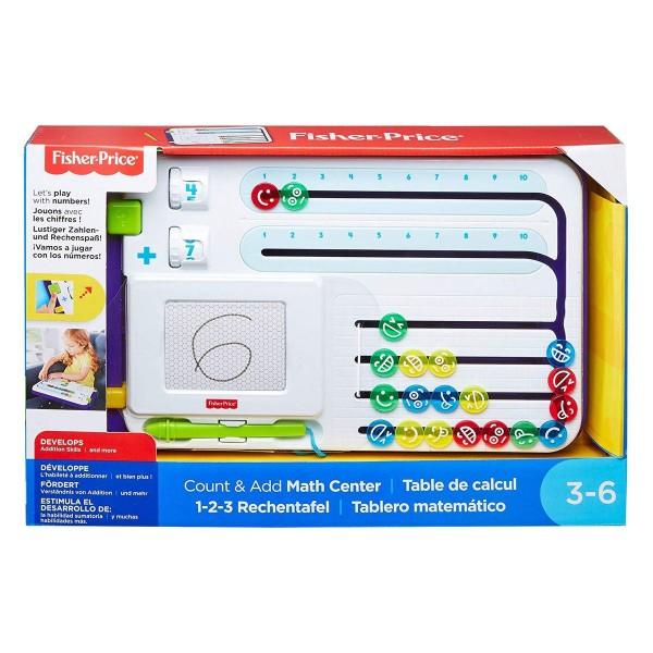 Mattel FNK69 - Fisher-Price - 1-2-3 Rechentafel