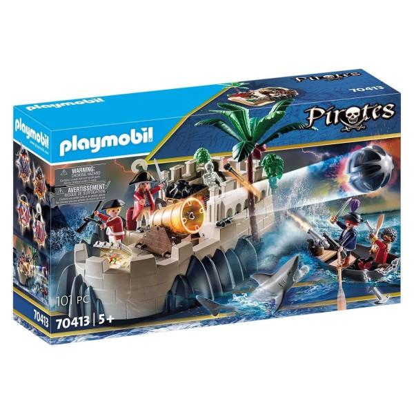 PLAYMOBIL® 70413 - Pirates - Rotrockbastion